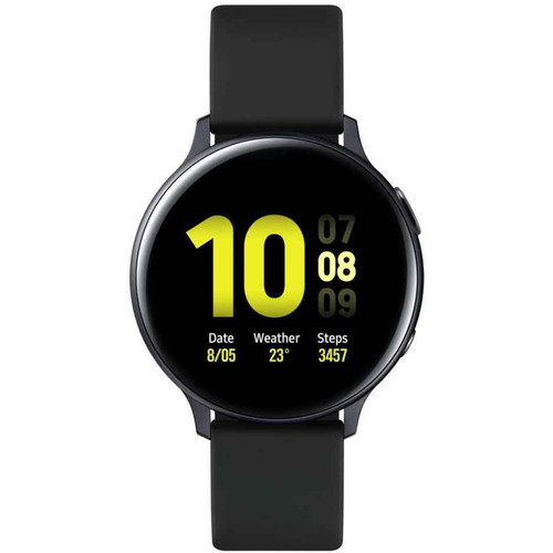 Samsung Galaxy Watch Active2 Bluetooth Smartwatch (Aluminum, 44mm, Aqua Black, International)
