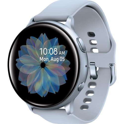 Samsung Galaxy Watch Active2 Bluetooth Smartwatch (Aluminum, 40mm, Cloud Silver)