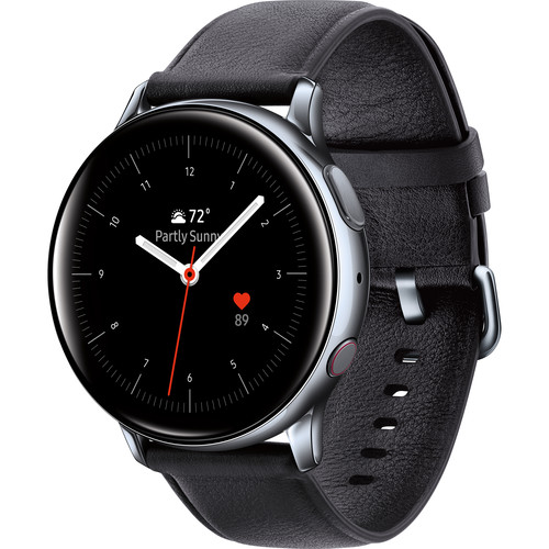 Samsung Galaxy Watch Active2 LTE Smartwatch (Stainless Steel, 40mm, Silver)