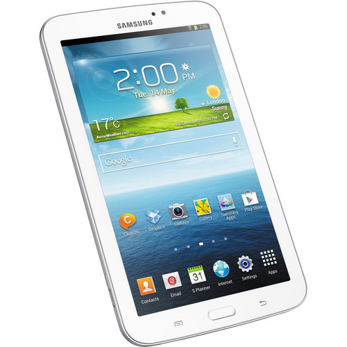 "Samsung 8GB Galaxy Tab 3 Multi-Touch 7.0"" Tablet (Wi-Fi Only, White)"