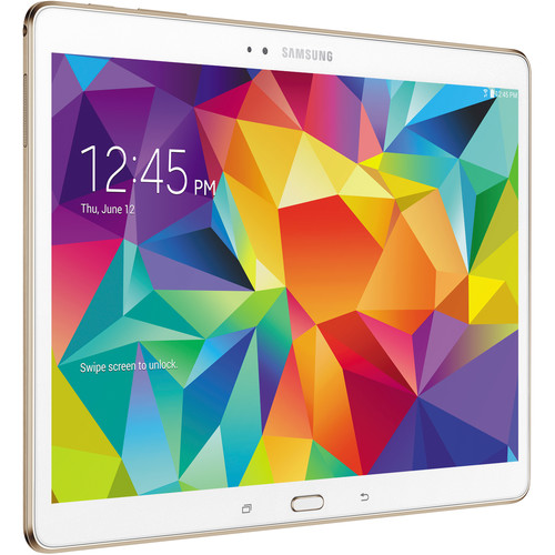 "Samsung 16GB Galaxy Tab S Multi-Touch 10.5"" Wi-Fi Tablet (Dazzling White)"