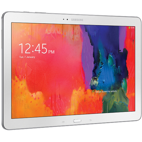 "Samsung 32GB Galaxy Tab Pro 12.2"" Wi-Fi Tablet (White)"