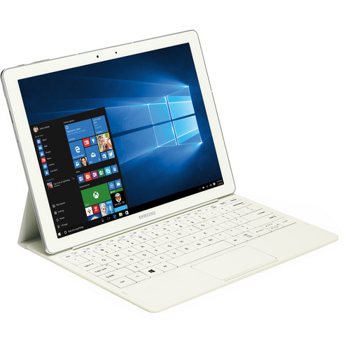 """Samsung 12.0"""" TabPro S 128GB Tablet (Wi-Fi Only, White)"""