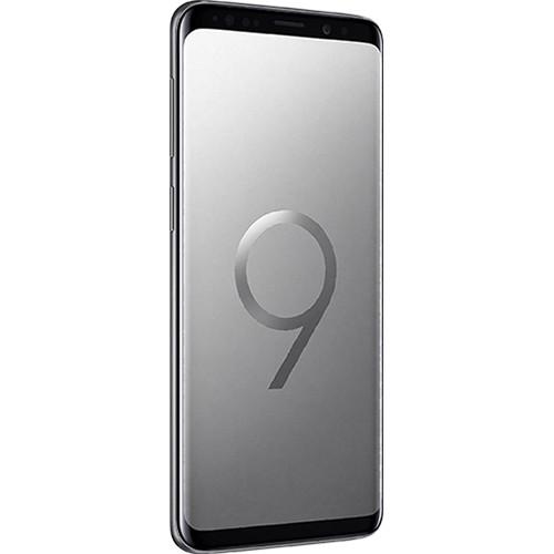 Samsung Galaxy S9 SM-G9600 Dual SIM 64GB Smartphone (Unlocked, Gray)