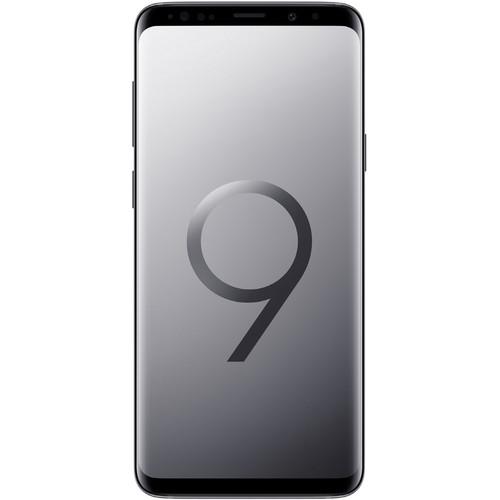 Samsung Galaxy S9+ SM-G9650 Dual SIM 64GB Smartphone (Unlocked, Gray)