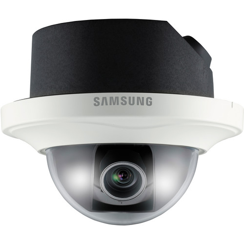Samsung SND-3082F 4CIF WDR Network Day/Night Dome Camera (Ivory)