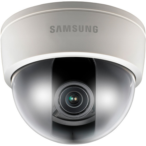 Samsung Techwin SND-5061 1.3 Mp HD Network Day/Night Dome Camera (Ivory)