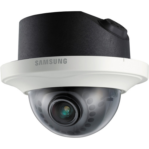 Samsung Techwin SND-7082F 3Mp Full HD Network Dome Camera with Flush Mount (Ivory)
