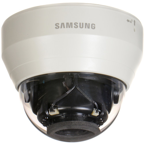 Samsung Techwin WiseNet Lite Series 1.3MP Full HD Network IR Dome Camera with 2.8 to 12mm Lens (Ivory)