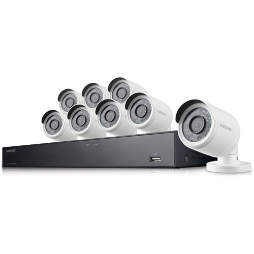 Samsung 16-Channel 4MP Super HD NVR Security System