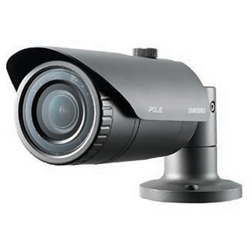 Samsung WiseNet Lite 1.3MP Vandal-Resistant Network Bullet Camera with Night Vision