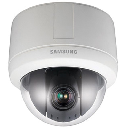Samsung Techwin SNP-3120 12x Day/Night Indoor Network PTZ Dome Camera (Ivory)
