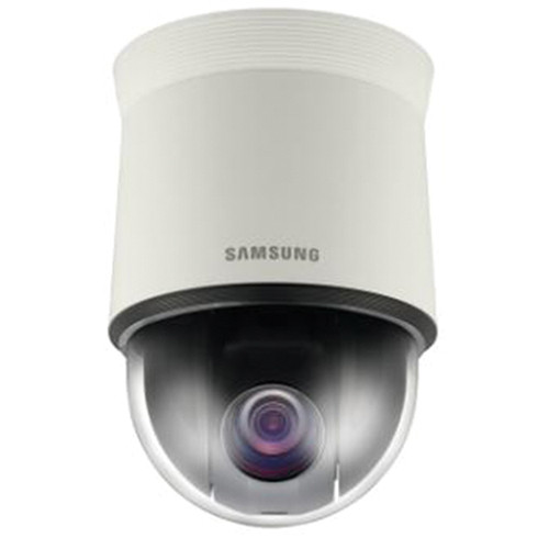 Samsung Techwin SNP-5430 1.3MP HD 43x Day/Night Network PTZ Dome Camera with Built-In Heater (Ivory)