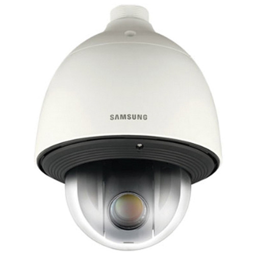 Hanwha Techwin SNP-5430H 1.3MP HD 43x Day/Night Network PTZ Dome Camera with Built-In Heater (Ivory)