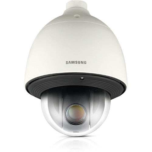 Samsung SNP-6320H 2MP Full HD 32x Day/Night PoE+ PTZ Network Camera with Heater (Ivory)