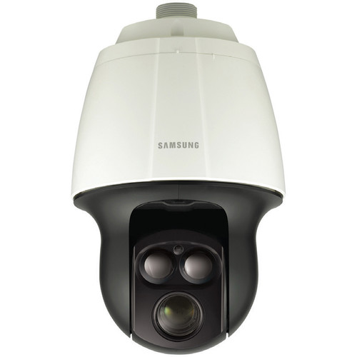 Hanwha Techwin SNP-6320RH 2MP Full HD Vandal-Resistant IR Network PTZ Dome Camera with Built-In Heater & 32x Zoom Lens (Ivory)