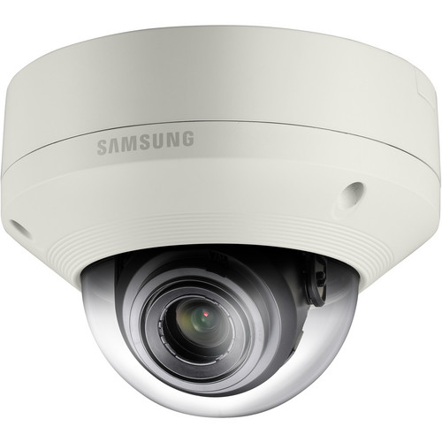 Hanwha Techwin SNV-5084 1.3 Mp 720p HD Vandal-Resistant Network Dome Camera with Built-In Motorized Varifocal Lens
