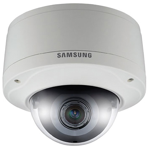 Samsung Techwin SNV-7082 3 Mp Full HD Vandal-Resistant Network Dome Camera (Ivory)