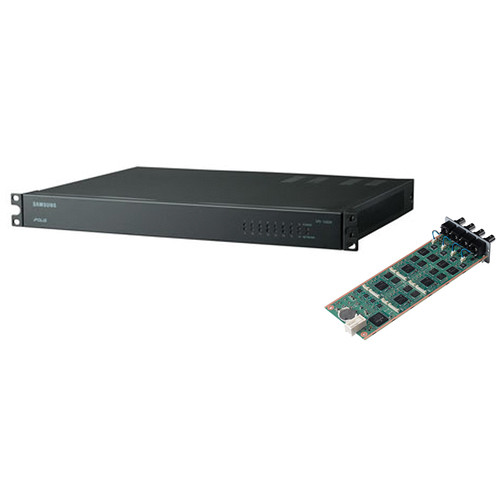 Hanwha Techwin 16-Channel High-Density Encoder Blade Kit
