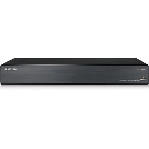 Hanwha Techwin SRD-1642D 16-Channel 960H Real-Time Compact Design Coaxial DVR (5TB)