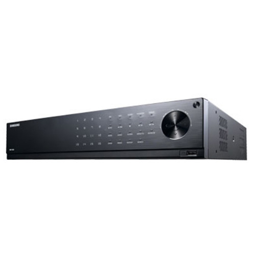 Samsung Techwin WiseNet HD+ 16-Channel 1080p AHD DVR with 24TB HDD