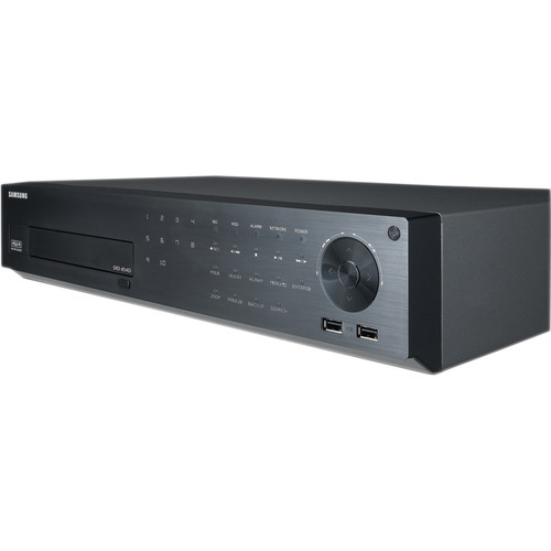 Samsung Techwin 8-Channel 960H DVR with 12TB Preinstalled HDD