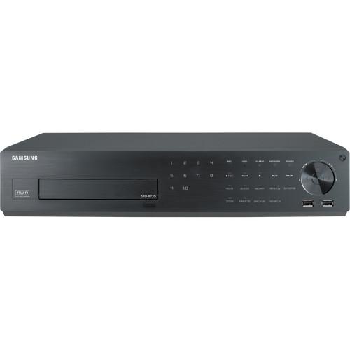 Samsung Techwin SRD-873D 8-Channel 4CIF Real-Time H.264 Digital Video Recorder (10TB)