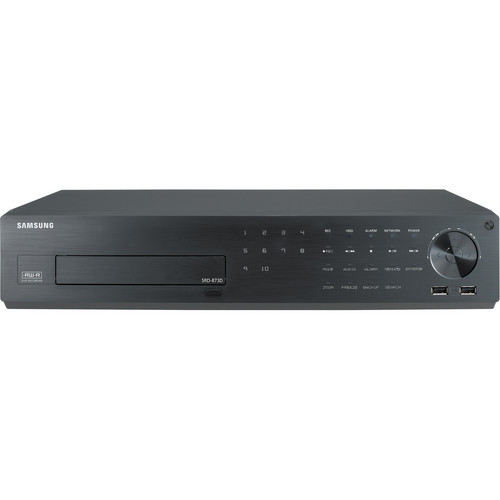 Samsung Techwin SRD-873D 8-Channel 4CIF Real-Time H.264 Digital Video Recorder (4TB)