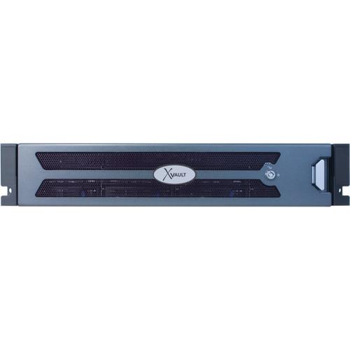 Samsung Techwin SRN-72SEN-BRSE 72-Channel 2U 8-Bay Rackmount NVR (48TB)