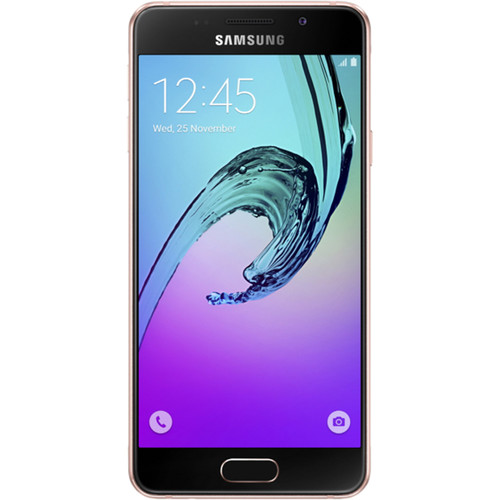 Samsung Galaxy A3 Duos A310M 2nd Gen 16GB Smartphone (Unlocked, Pink Gold)
