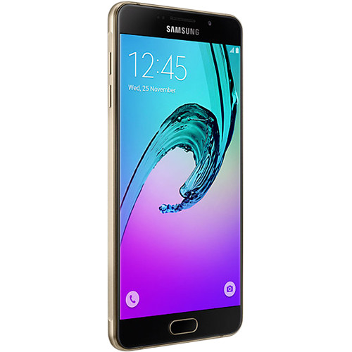 Samsung Galaxy A7 Duos A710M 2nd Gen 16GB Smartphone (Region Specific Unlocked, Gold)