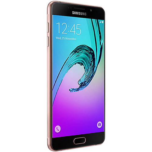 Samsung Galaxy A7 Duos A710M 2nd Gen 16GB Smartphone (Region Specific Unlocked, Pink Gold)