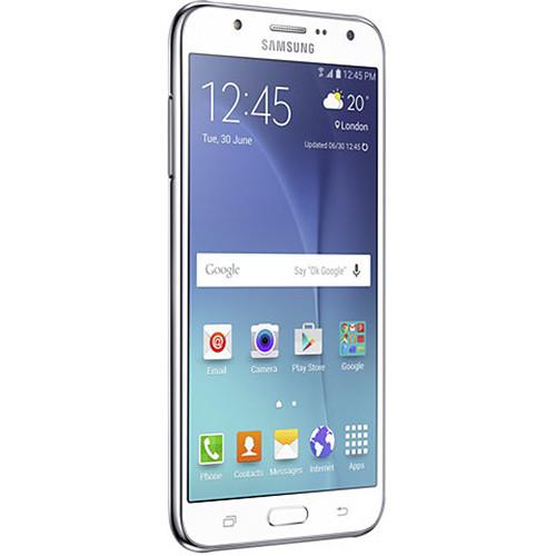 Samsung Galaxy J7 Duos SM-J700H 16GB Smartphone (Unlocked, White )