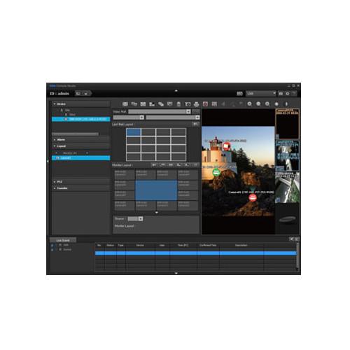 Hanwha Techwin SSM Virtual Matrix Add-On Module (Up to 32 Monitors)