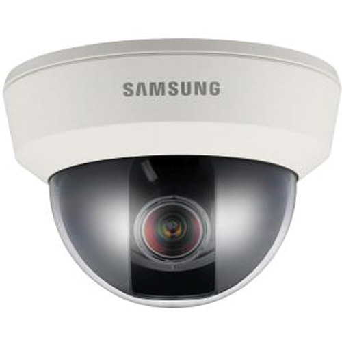 Hanwha Techwin SUD-2081 High Resolution True Day/Night Compact UTP Dome Camera with 2.8 to 10mm Varifocal Lens (NTSC)