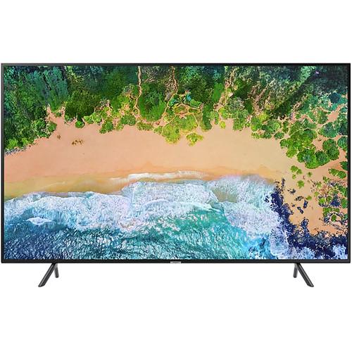"Samsung NU7100 43"" Class HDR 4K UHD Smart Multisystem LED TV"