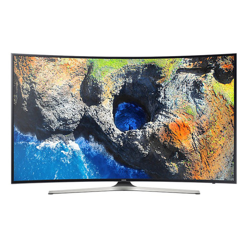 """Samsung MU7350-Series 49""""-Class HDR UHD Smart Curved Multi-System LED TV"""