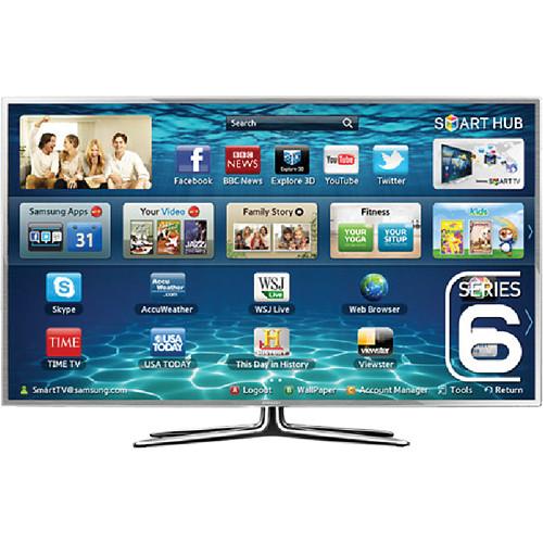 """Samsung UA-55ES6900 55"""" Multisystem 3D Smart LED TV"""