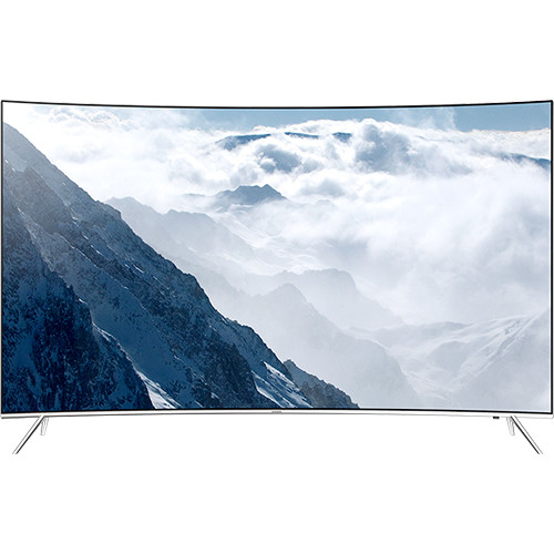 "Samsung KS8500-Series 55""-Class SUHD Smart Multi-System Curved LED TV"