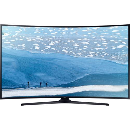 "Samsung KU7350-Series 55""-Class 4K Multi-System Curved Smart LED TV"