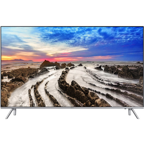 "Samsung UA55MU7000 55""-Class HDR UHD Multi-System Smart LED TV"