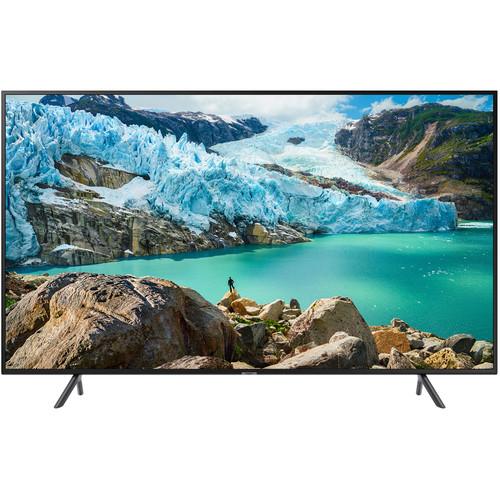"Samsung RU7100 55"" Class HDR 4K UHD Smart Multisystem LED TV"