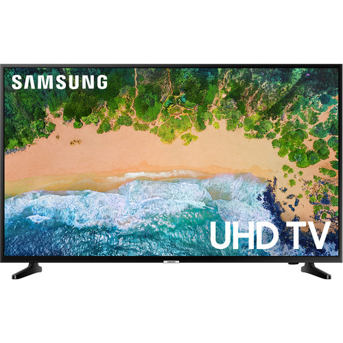 "Samsung NU6900 Series 43""-Class HDR UHD Smart LED TV"
