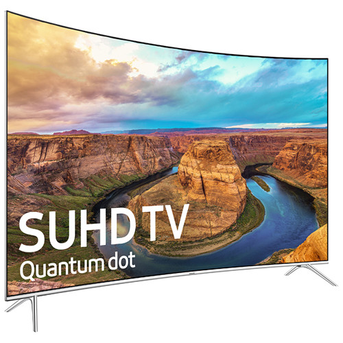"Samsung KS8500-Series 49""-Class SUHD Smart Curved LED TV"