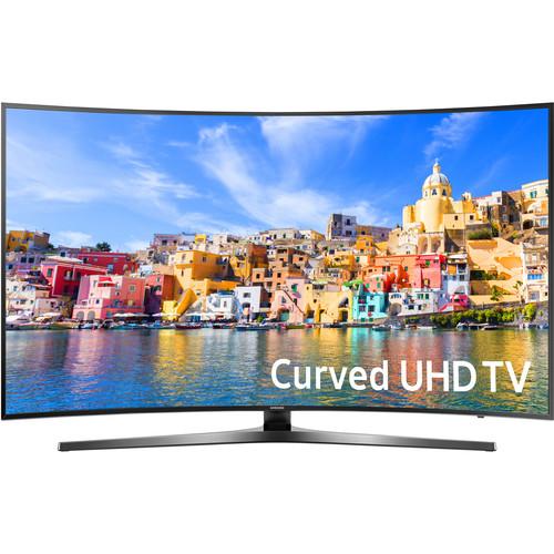 "Samsung KU7500-Series 49""-Class UHD Smart Curved LED TV"