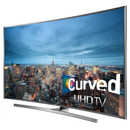 "Samsung JU7500 Series 50""-Class 4K Smart 3D Curved LED TV"