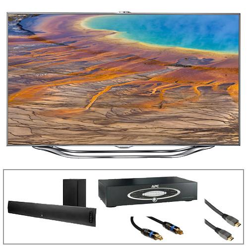 "Samsung UN55ES8000 55"" Class Slim LED 3D TV Advanced Kit"