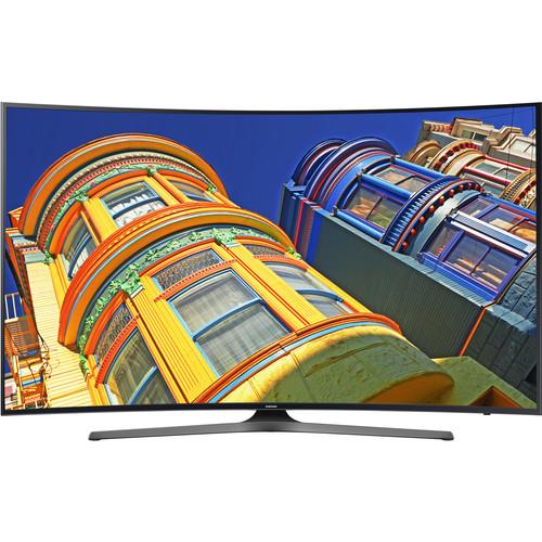 "Samsung KU6500-Series 55""-Class UHD Smart Curved LED TV"