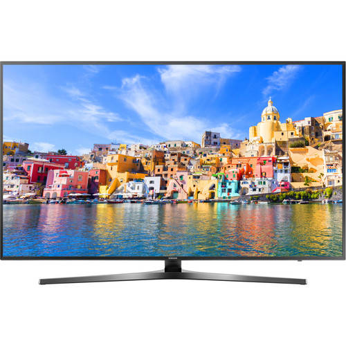 "Samsung KU7000-Series 55""-Class UHD Smart LED TV"
