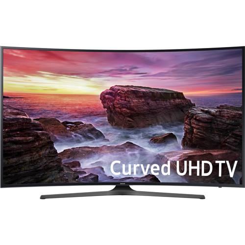 "Samsung MU6500-Series 55""-Class HDR UHD Smart Curved LED TV"